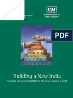 CII – BCG Report Building a New India the Role of Organized Retail in Driving Inclusive Growth