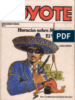 Jose Mallorqui - El Coyote 03 - Huracan Sobre Monterrey