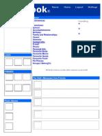 faithbook template  2014