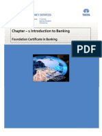 Chapter 1- Introduction to Banking