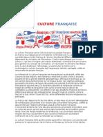 Culture Francaise