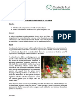GVI Pez Maya Monthly Achievement Report November 2014
