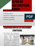Liquidacion de Sociedad Conyugal en Colombia