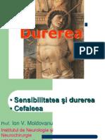 1.Durerea+Cefaleea  facult Managment 2013.ppt