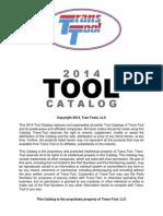 Trans Tool 2014 Catalog