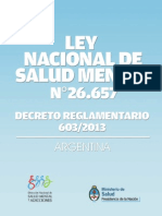 2013 09 26 Ley Nacional Salud Mental