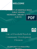 City of Deerfield Beach & Community Development Division