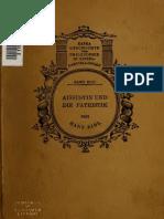 Eibl. Augustin und die Patristik. 1923.