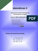 Sistemas Mat II