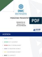 DWC Free Zone Presentation