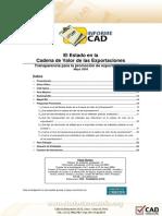 InformeCAD29 Transparencia Para La Prom de Exportaciones