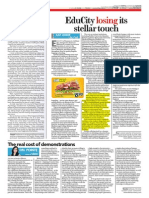 Educity@Iskandar is losing its stellar touch