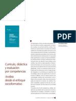 Curriculo, Didactica Y Evaluacion Por Competencias