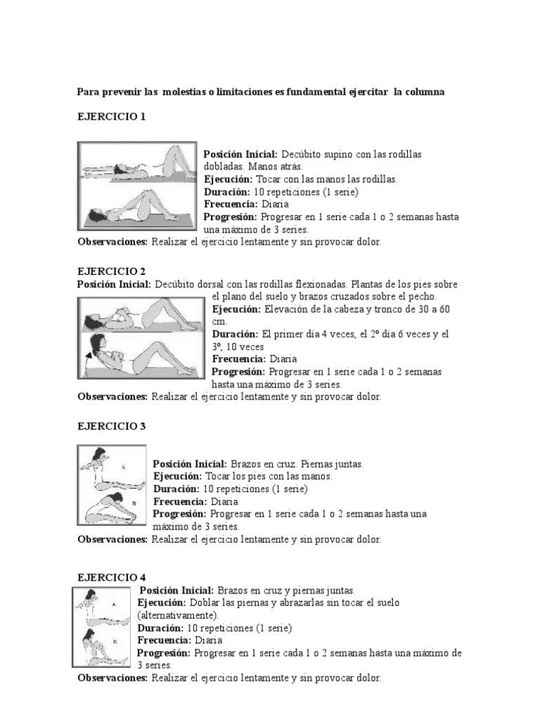 ejercicios de williams y mckenzie pdf