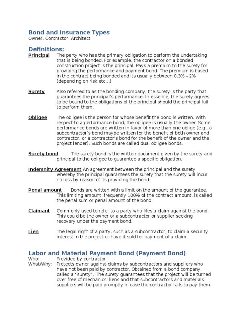 Bondsgtl Surety Bond Guarantee