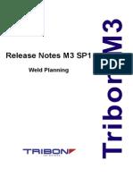 Weld Planning M3SP1