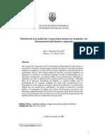 Pizzolitto Distribución de La Población y Migraciones Internas