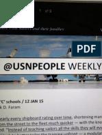 WeeklyWire 09 January 2015