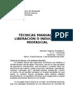 Técnicas manuales - inducción miofascial