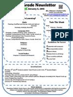january 5 2015 newsletter