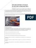 Evaluación de Estructuras Con El Uso de Esclerómetro