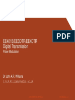 Digital Transmission Pulse Modulation