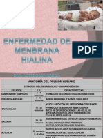Sindrome de Membrana Hialina 2014