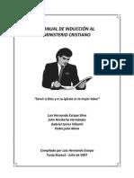 Manual de inducción al ministerio