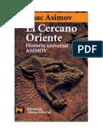 (2) Isaaac Asimov - El Cercano Oriente, (HUA, Vol.1)
