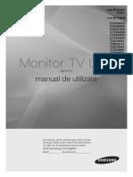 Manual Romana  TV LED Samsung