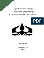 Analisi Manajemen Strategic