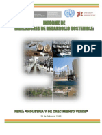 Informe Indicadores de Desarrollo Sostenible