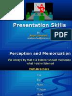 Training in Presentation Skills Final
