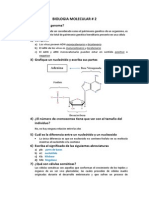 Cuestionario de Biologia Molecular- Leccion 2