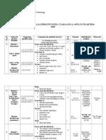Planificare Calendaristica.anuala Sem 1 Si 2