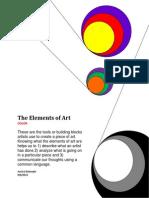 Art Color Worksheet
