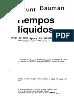 Liquidos pdf tempos bauman