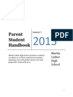 mlhs parent student handbook rev 1 2 15