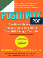 Positivity by Barbara Fredrickson - Excerpt