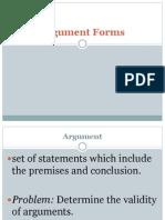 Argument Forms