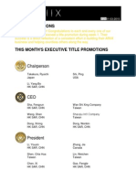 Weekly Title Promotion Week 01