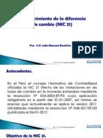 RECONOCIMIENTO DE DIFERENCIA DE CAMBIO - NIC 21.pdf