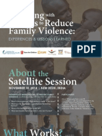 Working With Fathers_MenEngage Satellite Session 11.10.14