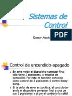 Modos de control en sistemas de control