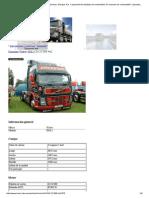 VOLVO FM12 D12C380 4x2. Datos Técnicos. Energía. Par. Capacidad Del Depósito de Combustible. El Consumo de Combustible. Capacidad de Carga