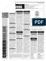 Claremont COURIER Classifieds 1-9-15