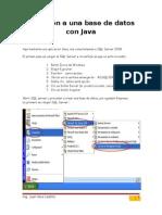Conexión Java SQL Server