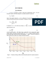 Hydrodynamic Forces Notes