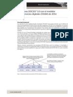 Funciones de Docsis, Perdidas de Paquetes y Ruido en JDsu Dsam