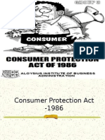 Consumer Protection Act ppt